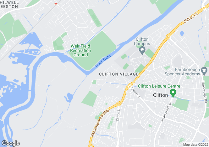 Map for Milldale Close, Clifton Village, Nottingham