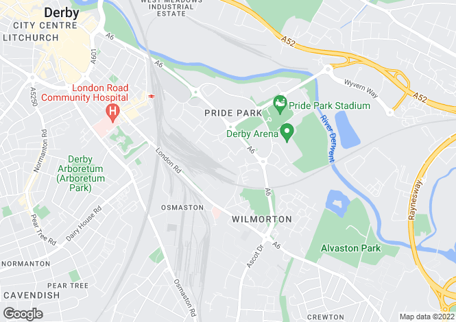 Map for 25 Pullman Business Park, 