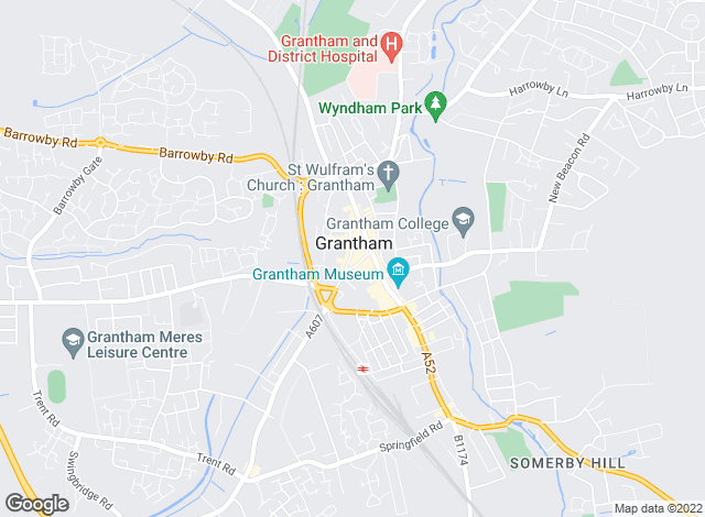 Map for Smart Lettings, Grantham
