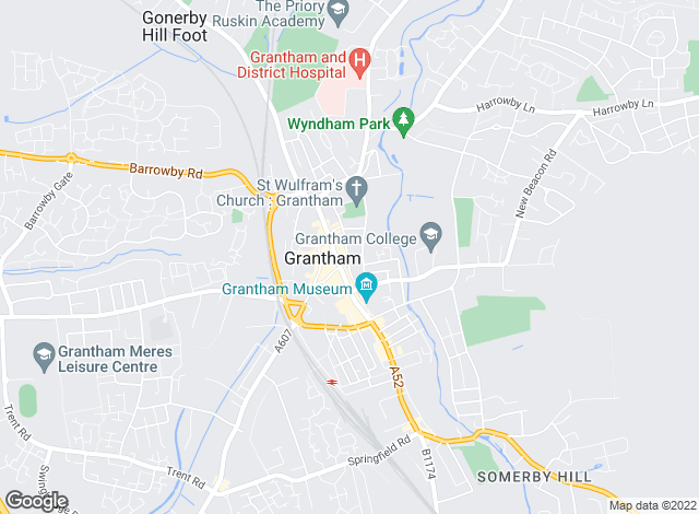 Map for Winkworth - Grantham, Grantham