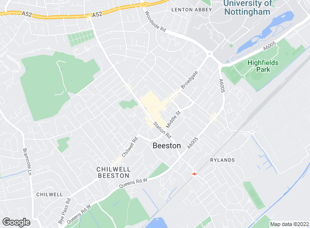 Map for Robert Ellis, Beeston