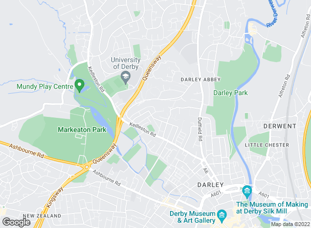 Map for Patrick Property Management, Derby