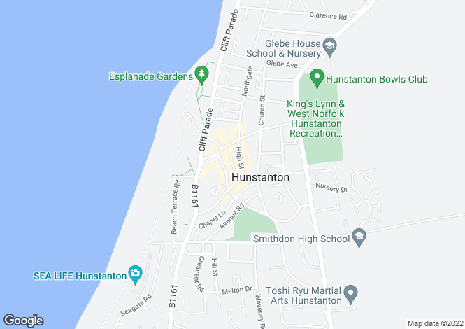 Map for High Street