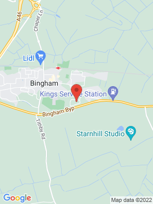 Location Map of Rebecca Burgess