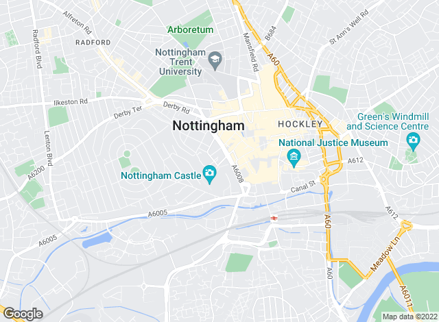 Map for Smith & Partners , Nottingham