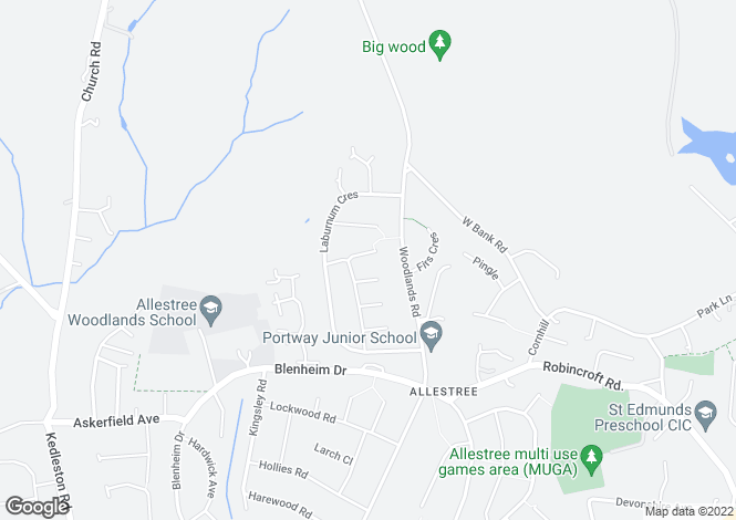 Map for 7 Tamar Avenue, Allestree