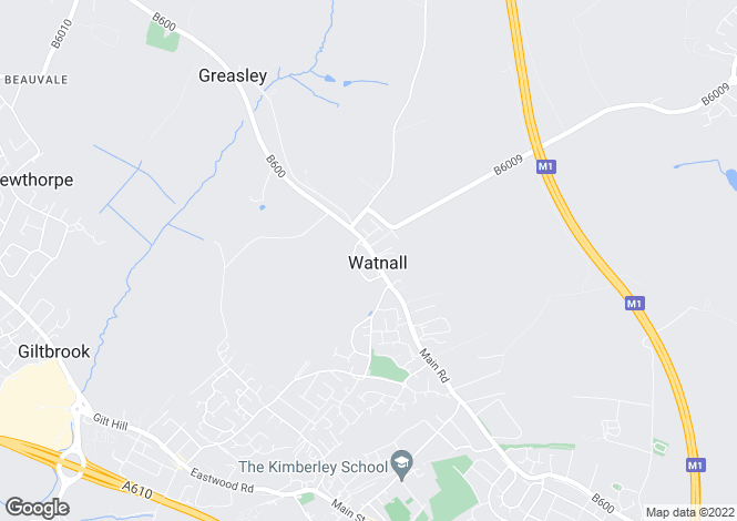 Map for Lancelot Drive, Watnall, Nottingham, Nottinghamshire