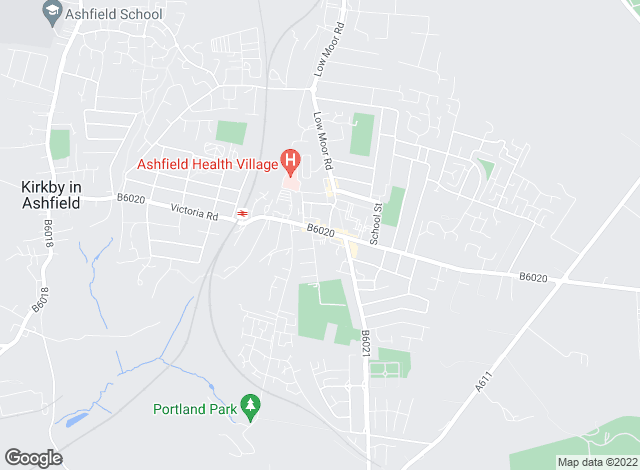 Map for Location, Kirkby in Ashfield � Sales & Lettings