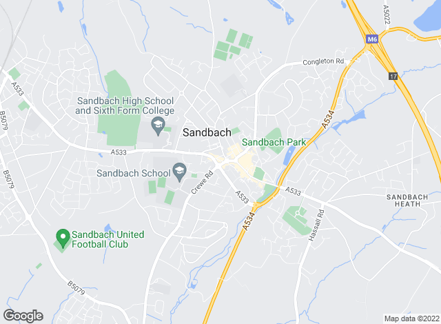 Map for Red Dot Estates Ltd, Sandbach