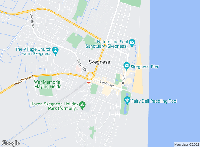 Map for Willsons, Skegness - Lettings