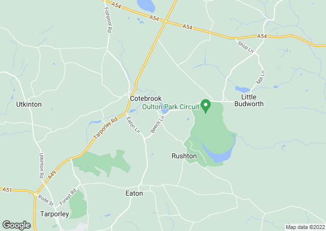 Map for Oulton Mill Lane,