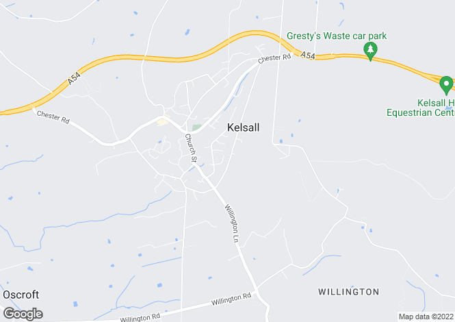 Map for Quarry Lane, Kelsall