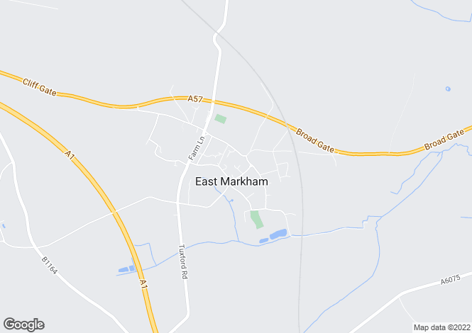 Map for The Hall Close, East Markham, Nottinghamshire