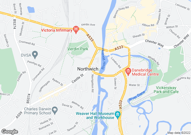 Map for 54 Freshwater View,