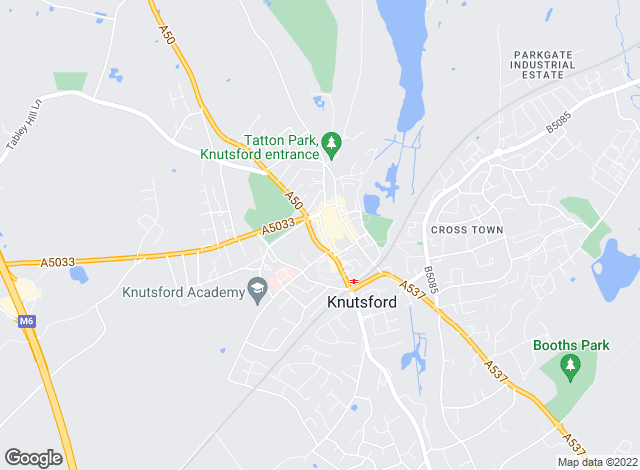 Map for Gascoigne Halman, Knutsford - Lettings
