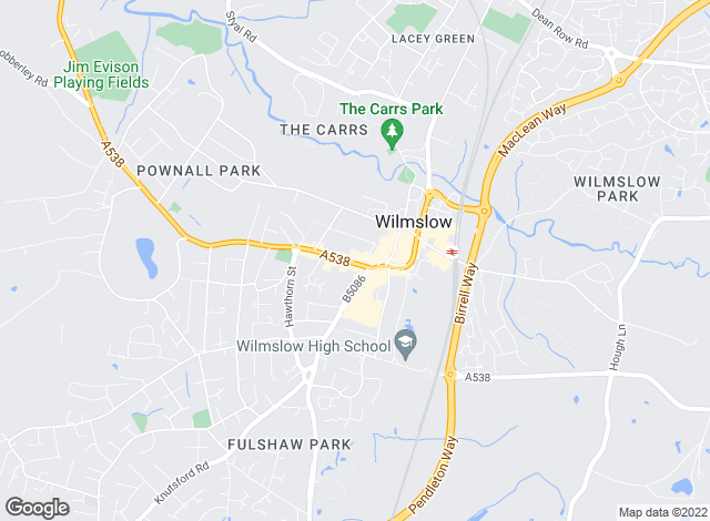 Map for Jackson-Stops & Staff, Wilmslow