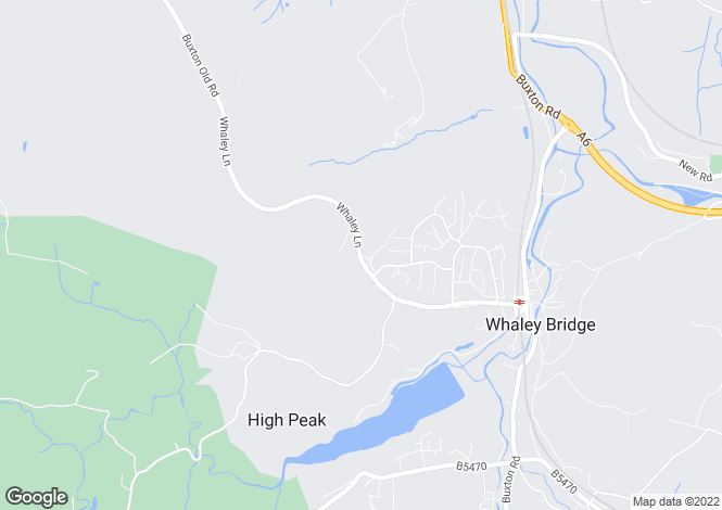 Map for Stoneheads, Whaley Bridge, High Peak
