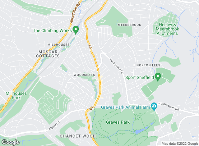 Map for Letwise, Sheffield - Lettings
