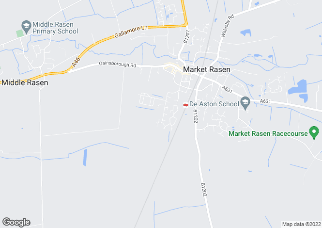 Map for Wold View Mill Road, Market Rasen, Lincolnshire