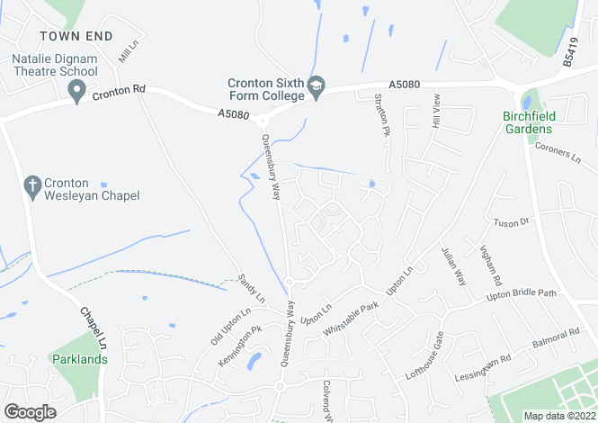 Map for Alderwood Court, , Widnes, Cheshire