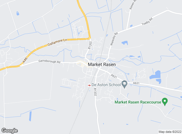 Map for Perkins, George Mawer & Co, Market Rasen