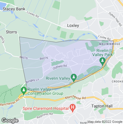 Map of property in Stannington