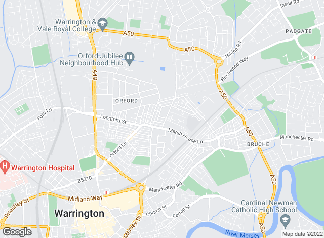 Map for ImmediLet, Warrington