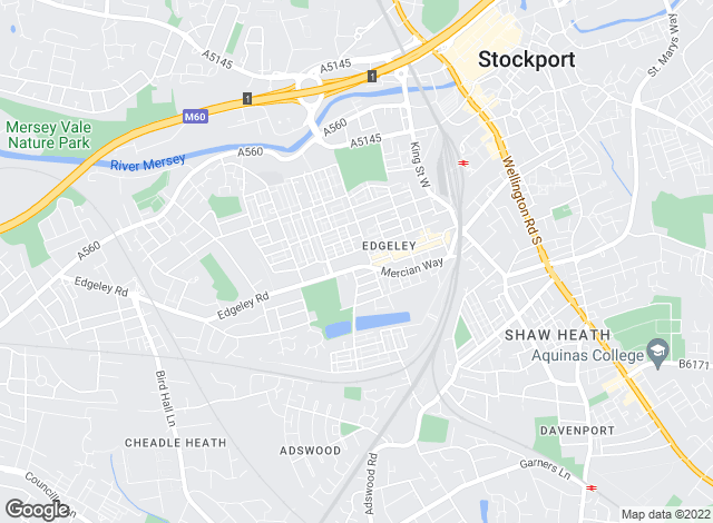 Map for Reeds Rains , Edgeley