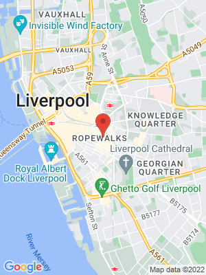 Location Map of Carrie Simone Birmingham