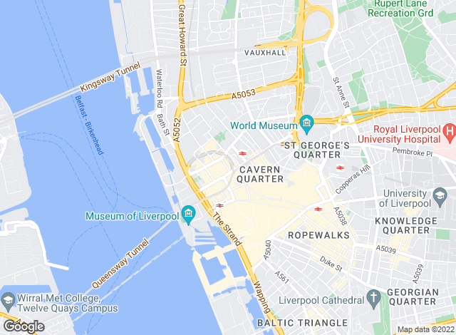 Map for Liverpool Property Solutions, Liverpool