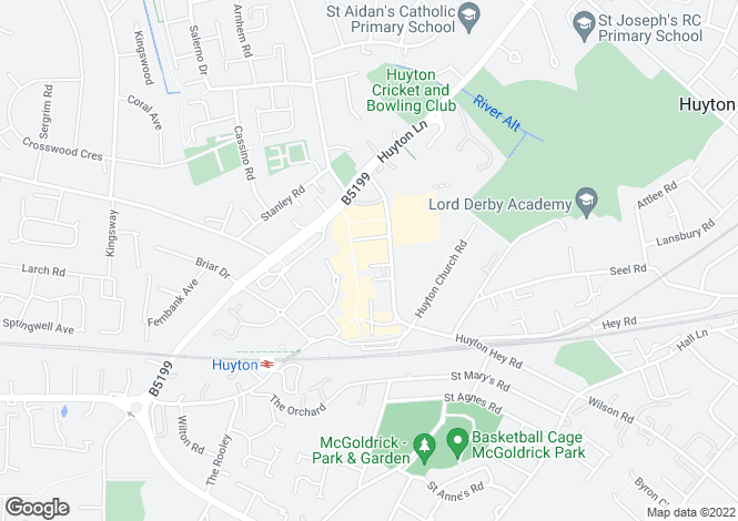 Map for 17 Sherborne Square,