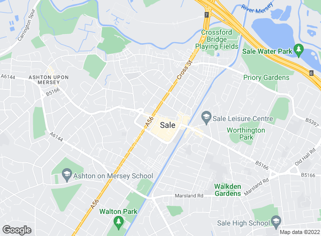 Map for Gascoigne Halman, Sale - lettings