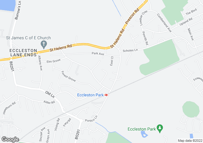 Map for Holme Croft Holme Close, Eccleston Park, Prescot L34