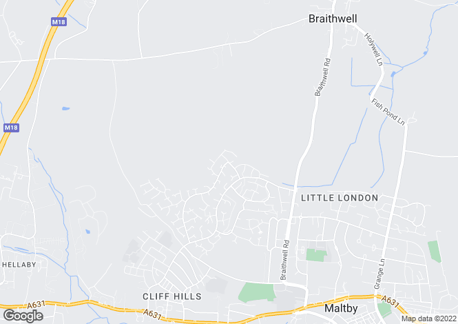 Map for Amorys Holt Road, Maltby, ROTHERHAM, South Yorkshire