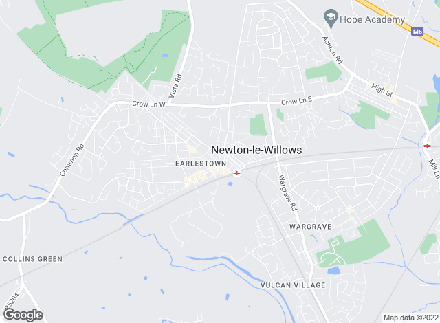 Map for THINK Sales Lettings Mortgages, Newton-le-Willows
