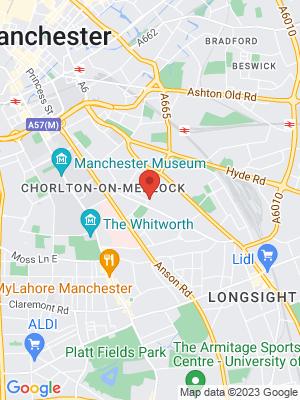 Location Map of Rhiannon Ashley