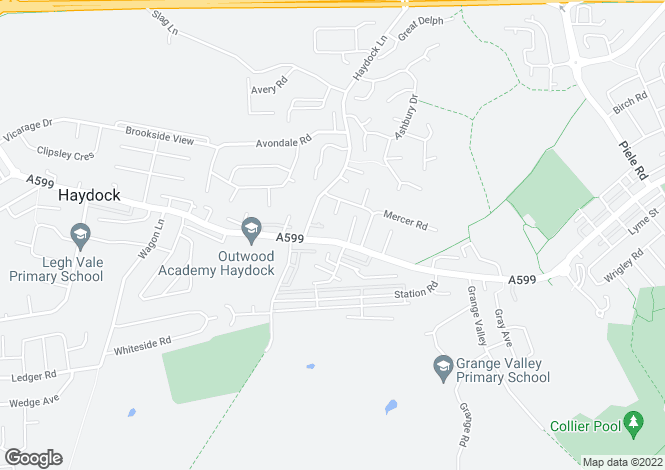 Map for Clipsley Lane, Haydock, St. Helens, WA11