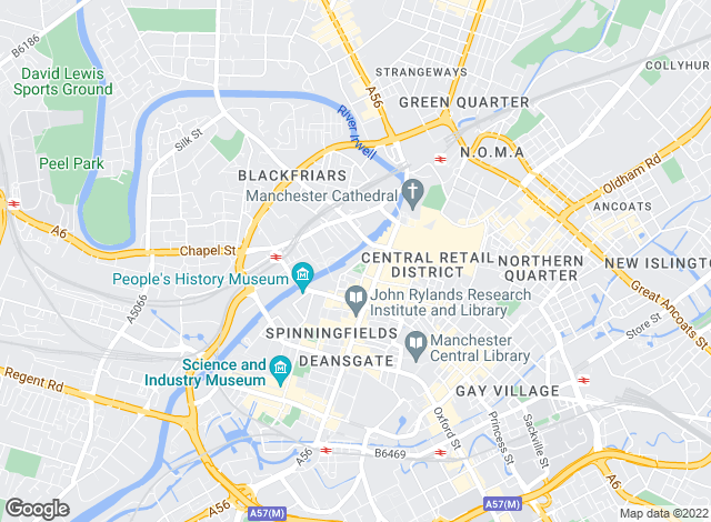 Map for Roger Hannah & Co, Manchester