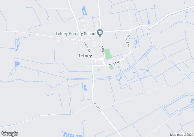 Map for Thoresby Road Tetney DN36 5JR