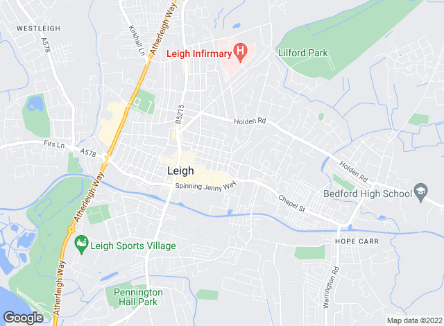 Map for Littlewood Estate Agents, Leigh