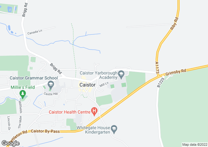 Map for Grimsby Road,