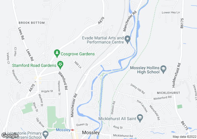 Map for Manchester Road,