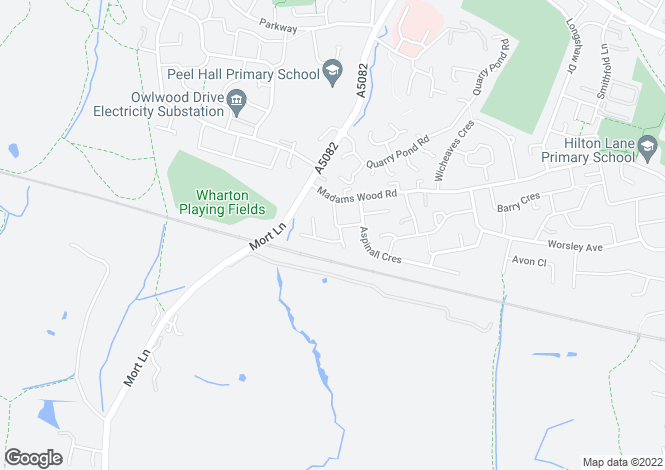 Map for Jonquil Drive, Worsley, Manchester M28