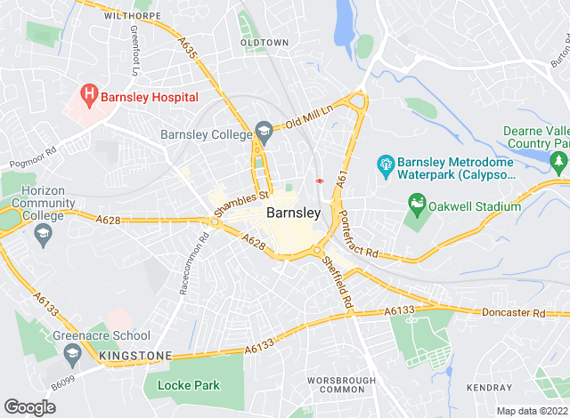 Map for Your Move, Premier Barnsley