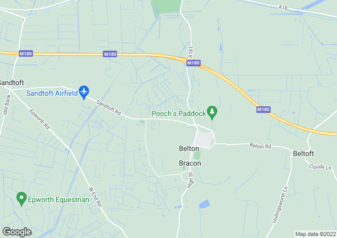 Map for Westgate Road, Belton, Doncaster