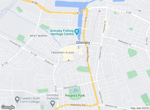 Map for DDM Residential, Grimsby