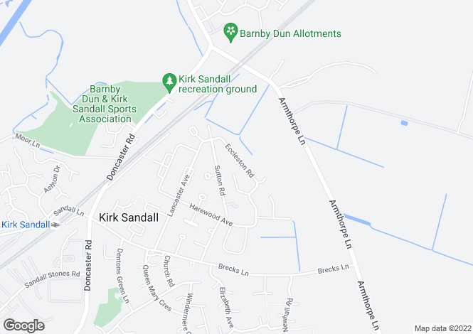 Map for Eccleston Road,