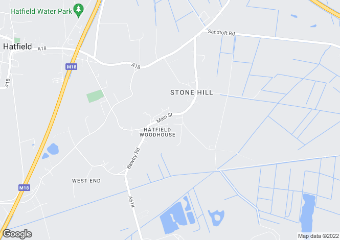 Map for Development Opportunity, Main Street, Hatfield Woodhouse, Doncaster, DN7 6PB