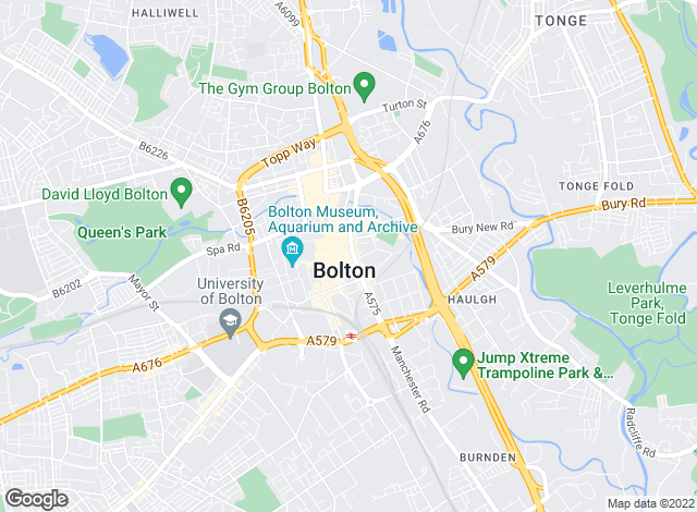 Map for Miller Metcalfe, Bolton - Lettings