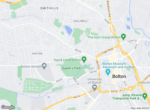 Map for Lamb & Swift Commercial, Bolton